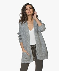 By Malene Birger Belinta Mohair Cardigan - Grey