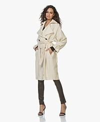 IRO Trustful Twill Trenchcoat - Beige