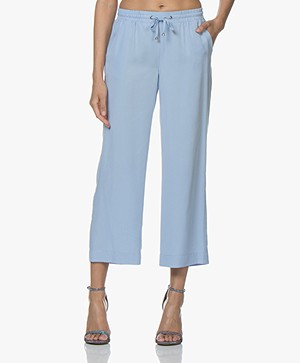 Josephine & Co Cengiz Cropped Tencel Pants - Light Blue
