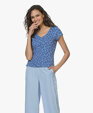 Josephine & Co Carine Jacquard Print T-Shirt - Jeans