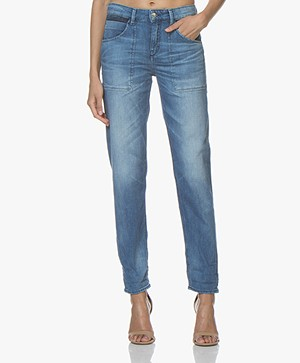 Drykorn Cushy Loose-fit Jeans - Blauw