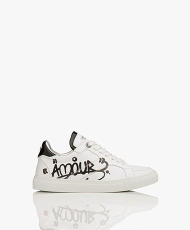 Zadig & Voltaire ZV1747 Board Jormi Sneakers - Wit