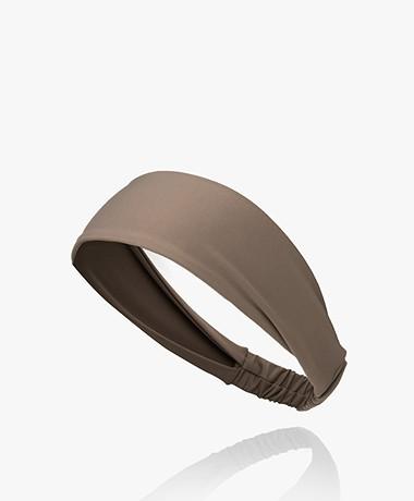 Norba Ballet Soft Stretch Hairband - Mocca