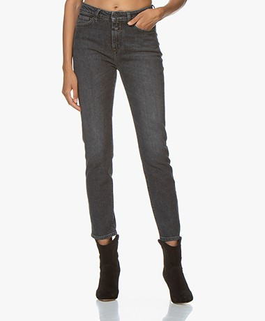 Closed Baker Cropped Skinny Jeans - Donkergrijs