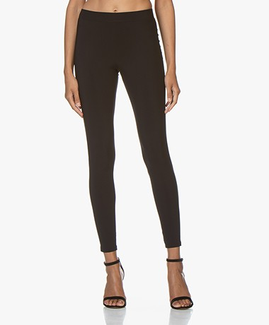 LaDress Rio Travel Jersey Leggings - Black