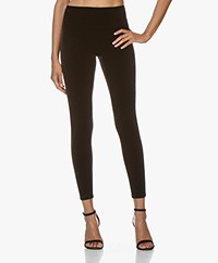SPANX® Structured Velvet Leggings - Very Black
