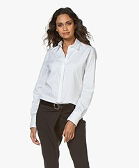 Joseph Edith Poplin Shirt - White