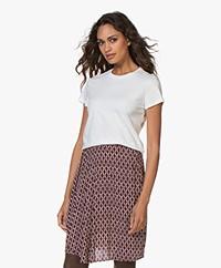 Denham Arrow Basic T-shirt - Off-white