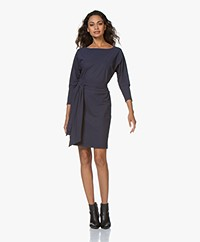 LaDress Carla Travel Jersey Tunic Dress - Midnight Mist