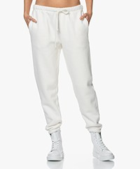 American Vintage Ibowie French Terry Sweatpants - Ecru