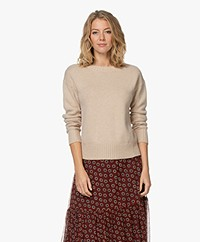 Josephine & Co June Merino Blend Round Neck Sweater - Sand