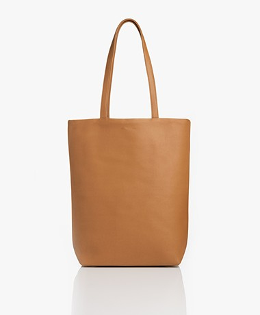 Monk & Anna Merian Vegan Tote Bag - Caramel Fudge