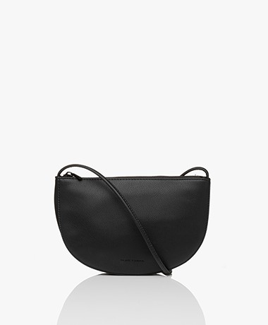 Monk & Anna Farou Half Moon Vegan Cross-Body Bag - Black