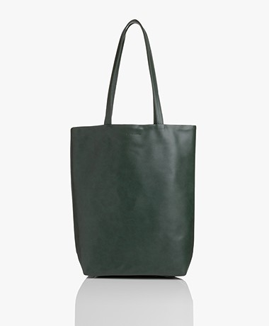 Monk & Anna Merian Vegan Shopper - Pine Green