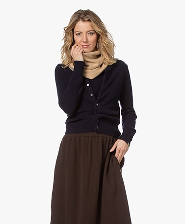 extreme cashmere N°8 Multifunctioneel Cashmere Accessoire - Camel