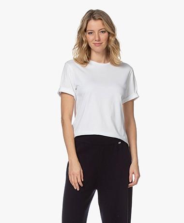 Filippa K Annie Organic Cotton T-shirt - White