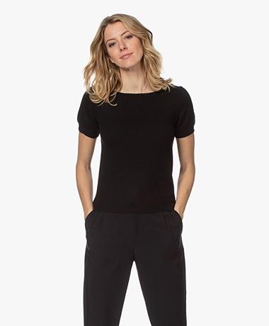 Resort Finest Lido Pullover with Round Neck - Black