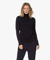 Filippa K Cashmere Roller Neck Sweater - Donker Navy