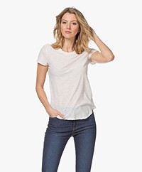 James Perse Supima Slub Jersey T-shirt - Resin