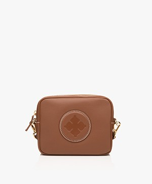 By Malene Birger Gemma Mini Schoudertas - Red Clay