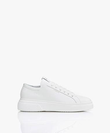Copenhagen Studios Low-top Leather Platform Sneakers - White