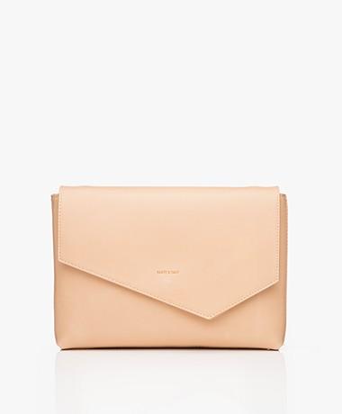 Matt & Nat Riya Vintage Clutch/Shoulder Bag - Frappe