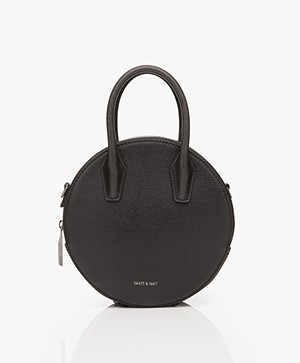 Matt & Nat Kate Mini Vintage Cross-body Tas - Zwart