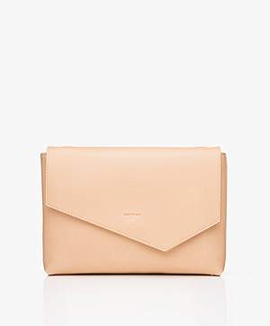 Matt & Nat Riya Vintage Clutch/Shoulder Bag - Frappe