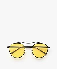 Matt & Nat Otis Sunglasses with Colored Lenses - Yellow