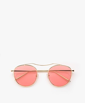 Matt & Nat Otis Sunglasses with Colored Lenses - Pink