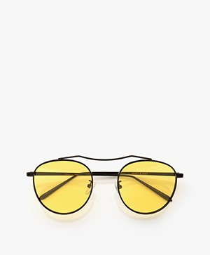 Matt & Nat Otis Sunglasses with Colored Lenses - Yellow
