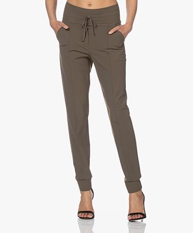 Josephine & Co Craig Travel Jersey Pants - Army