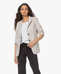 Woman by Earn Jan Jersey Blazer - Sand