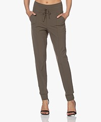 Josephine & Co Craig Travel Jersey Pants - Army