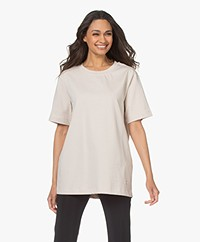 By Malene Birger Fayeh Organic Cotton T-Shirt - Stone