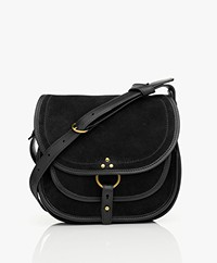 Jerome Dreyfuss Felix L Saddle Shoulder/Cross-body Bag - Black