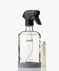 Kinfill Clear Glass & Mirror Spray Starter Kit - Cucumis