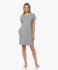 HANRO Natural Elegance Night Shirt - Grey Melange