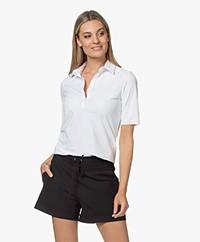 JapanTKY Hyn Travel Jersey Polo T-shirt - Wit