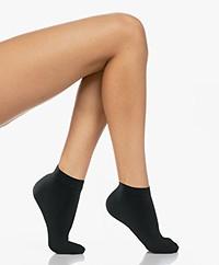 FALKE Fine Softness Sneaker Socks - Black