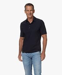 OneFold Travel Jersey Heren Poloshirt - Donkerblauw