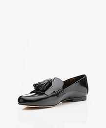 Filippa K Leather Leslie Loafers - Black Polido