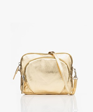 Filippa K Mini Leather Bag - Gold