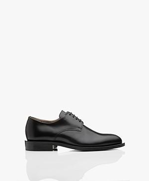 Filippa K Harper Laced Shoe - Black Napp