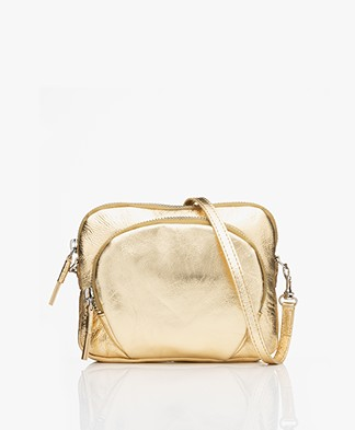 Filippa K Mini Leather Bag - Gold