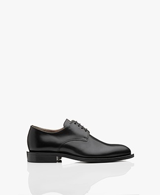 Filippa K Harper Laced Shoe - Black Napp