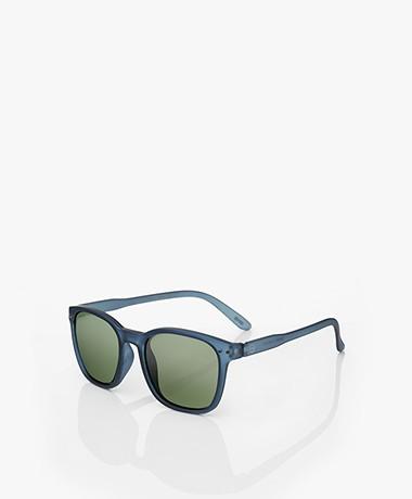 IZIPIZI Sun Nautic Polarized Sunglasses - Night Blue/Green Lenses