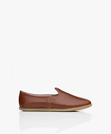 SURÉE Leather Loafers - Copper