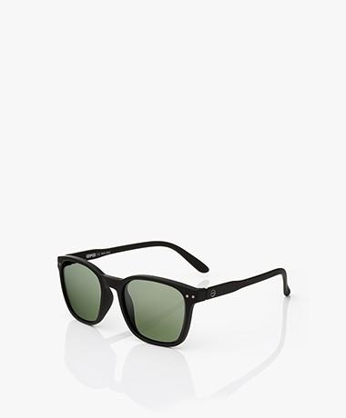 IZIPIZI Sun Nautic Polarized Zonnebril - Zwart/Groene Glazen