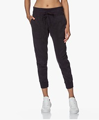 James Perse Mixed Media Broek - French Navy